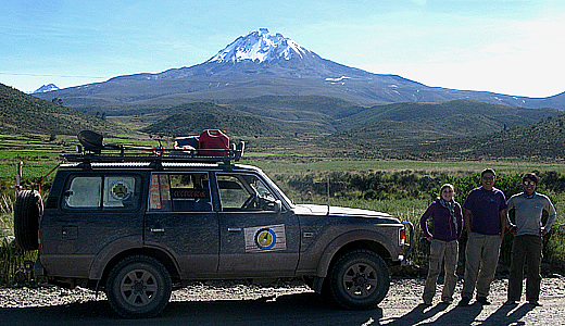 4 Wheel Drive to Nevado Pikchu Pikchu in Arequipa Peru
