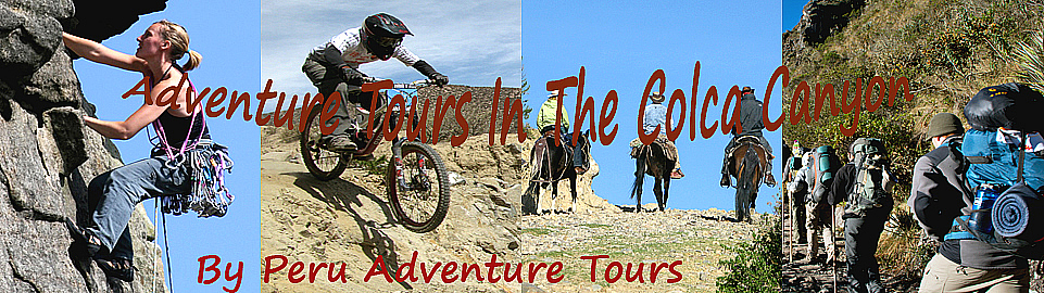 Adventure Tours In The Colca Canyon