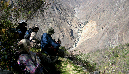 Adventure Treks In The Colca Canyon
