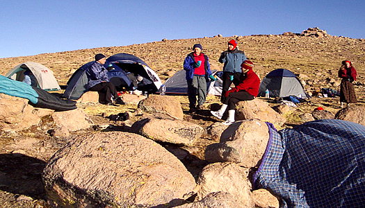 Andean Camping