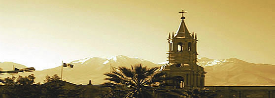 Tower Of Arequipa Cathedral