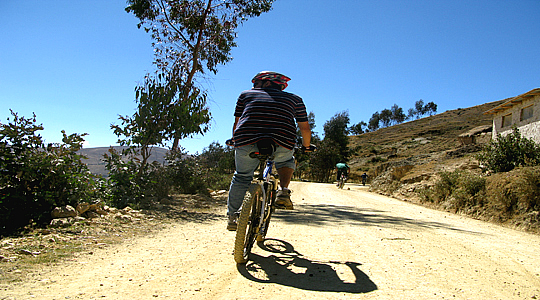 Biking In The Colca Canyon Arequipa Peru