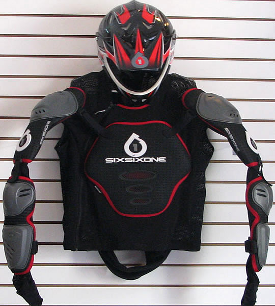 Mountain Biking Body Armor