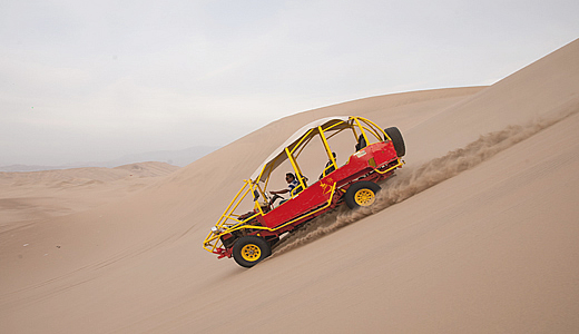 Sand Buggy In Ica