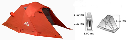 Kaila Tent - Doite Camping Gear
