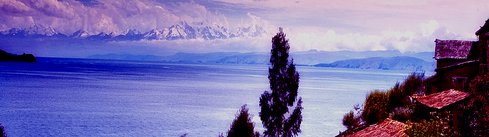 View On Lake Titicaca Peru