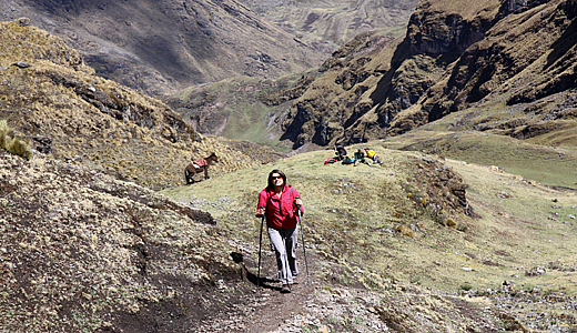 Lares hiking tour