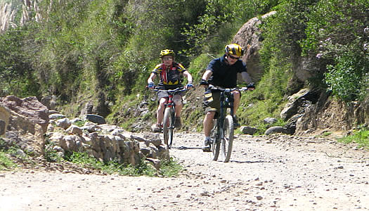 Mountain Bike Tour In Peru