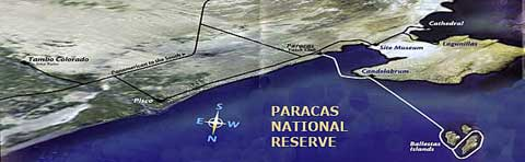 Paracas Satellite Map
