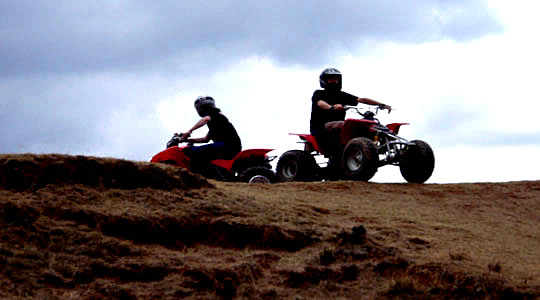 Quad Bike Riders - Cusco Peru