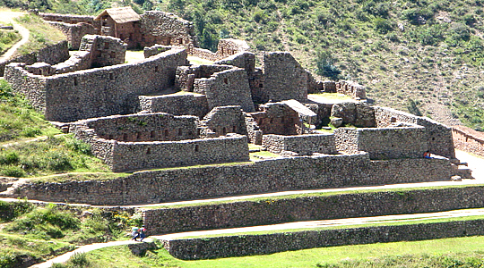 Inca Archaeological Sites Along The Inca Path