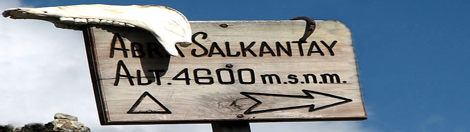 Salcantay Pass 4600 Meter Above Sea Level
