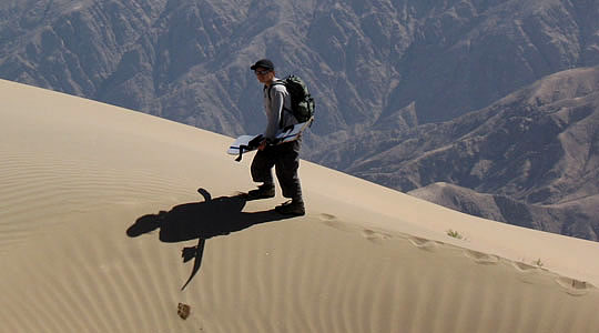 Climbing The Highest Sand Dune In The World - Cerro Blanco 2070m - Nazca
