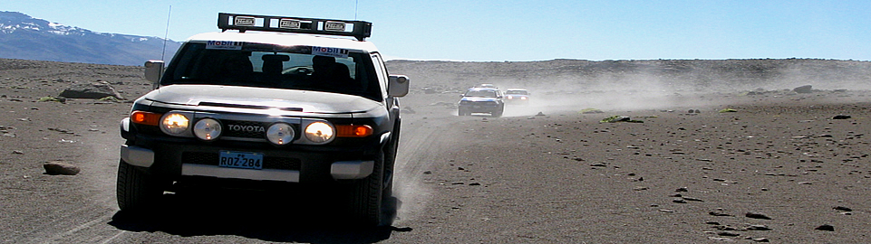 Toyota JF Cruiser Crossing The Andes Of Peru