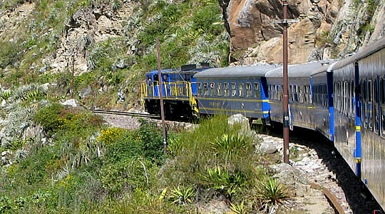 Train Journey To Machu Picchu Inca Refuge Cusco Peru