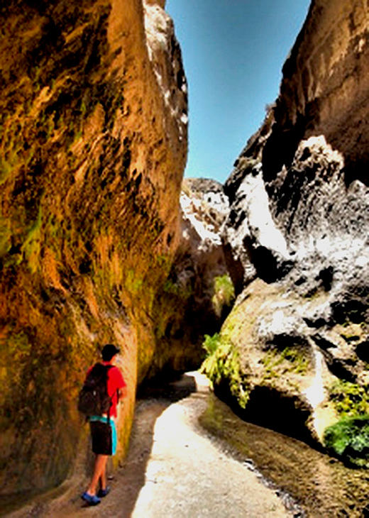 Trek Into The Lava Canyon Arequipa