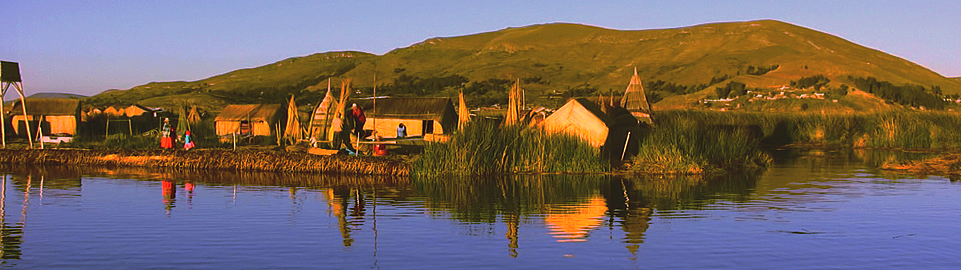 Uros Floating Islands - Lake Titicaca Puno