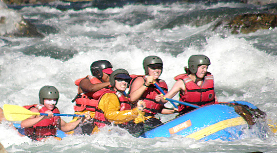 Urubamba White Water River Rafting