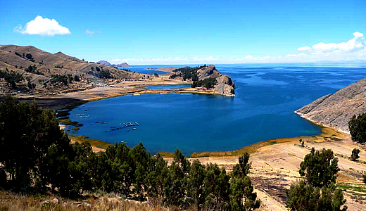 View Of Titicaca Lake
