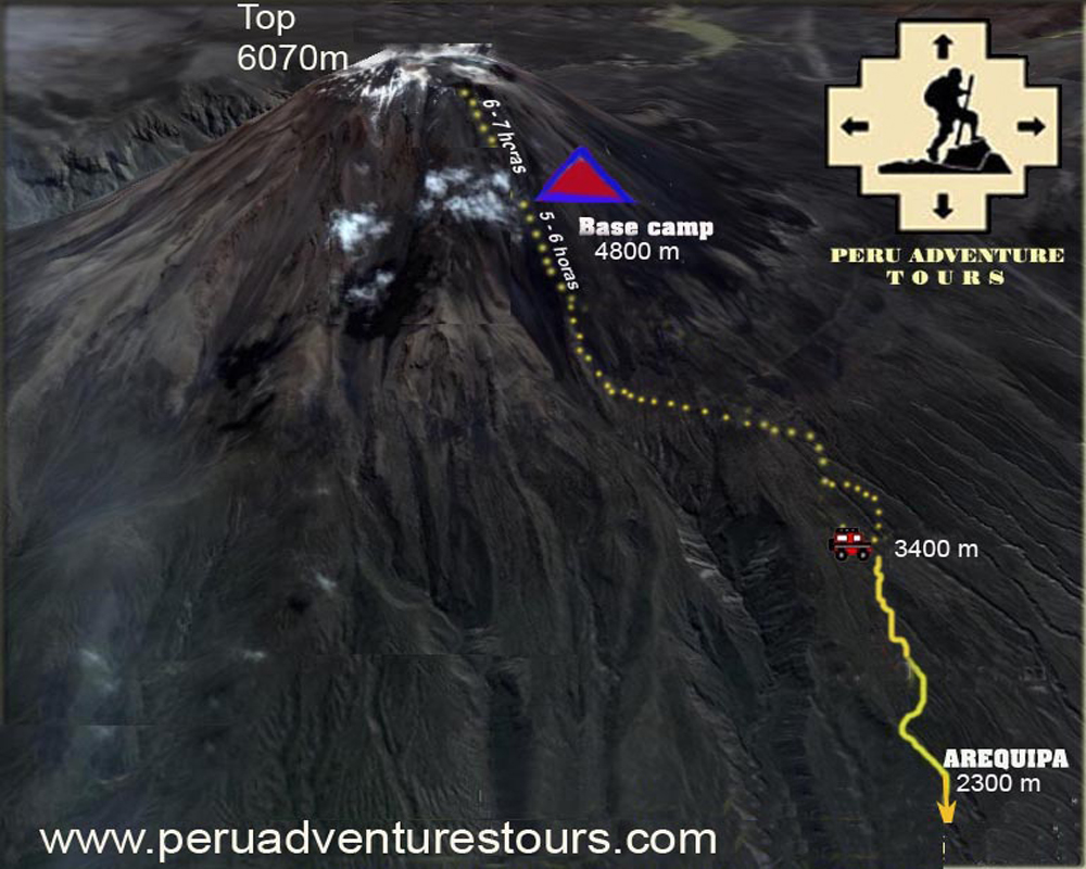 Everyday Trekking And Climbing Tours To Volcan Misti