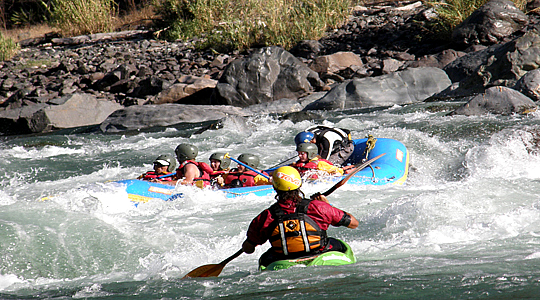 Tour Of Rafting In Apurimac River