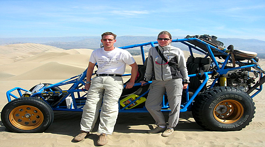 Dune Buggy Vehicle - Peru