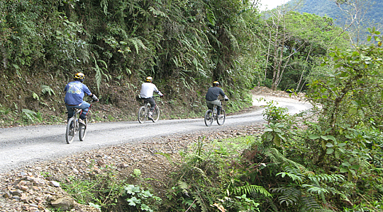 Jungle Biking Tour Peru