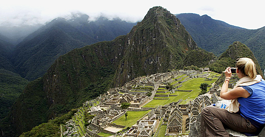 Picture Of Machu Picchu Peru