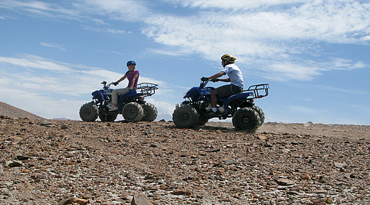 Quad Bikers Around Peru