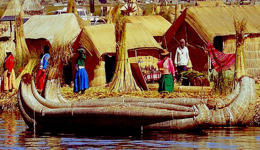Lake Titicaca - Uros Community